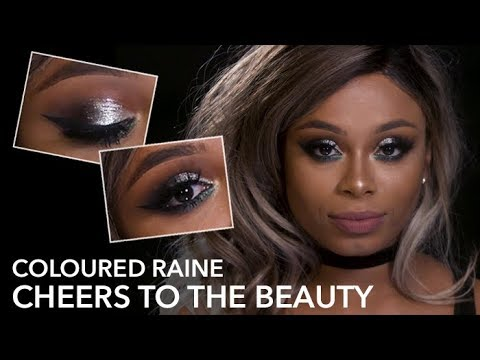 COLOURED RAINE CHEERS TO THE BEAUTY: SWATCHES & LOOK with Keshia East | Beauty Bay