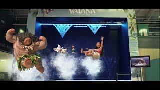 Repeat youtube video Vaiana, la légende du bout du monde - Rideau d'eau à KidExpo