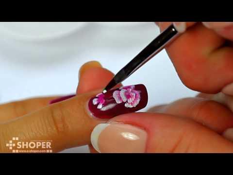 Китайская роспись ногтей для начинающих