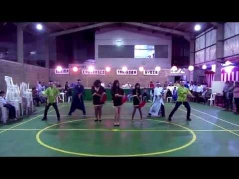 Para²MIX Traditional Dance -パラパラ- Shanghai Rave and Urya Sorya [うりゃ! そりゃ!! ~大和魂~] @Nikkei Matsuri