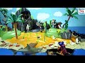 Playmobil Pirates Adventure Treasure Island Toy Set with Sea Animals Toys For Kids