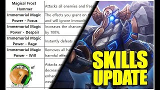 SUMMONERS WAR : Labyrinth Dev Note 2 : Miniboss / Boss Skills Update