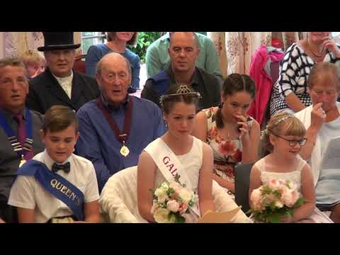 Crowning of Gatehouse Gala Queen 2018