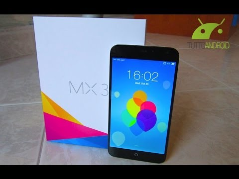 Meizu MX3 Unboxing in Italiano da TuttoAndroid.net
