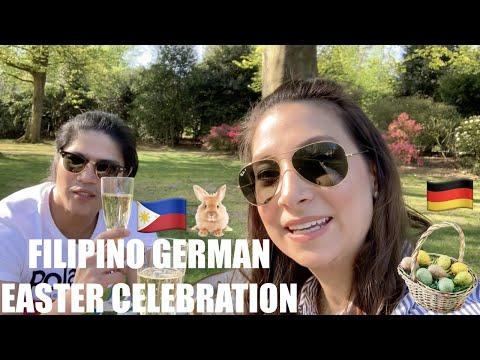 Filipino German Couple Easter Celebration  I Vlog on with RJ & Tin I Vlog 18