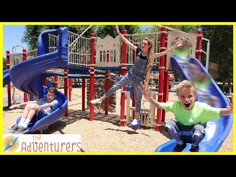 PLAYGROUND GAMES - Who Will Win The $100?  That YouTub3 Family I The Adventurers