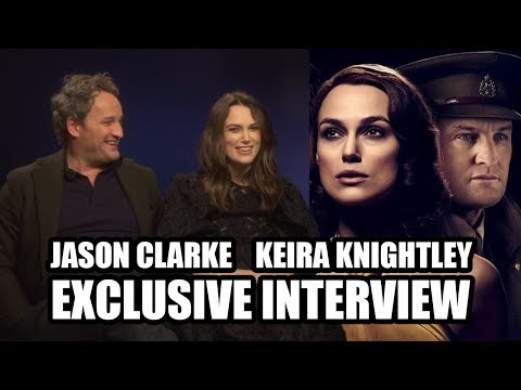 Keira Knightley and Jason Clarke on THE AFTERMATH - Exclusive Interview