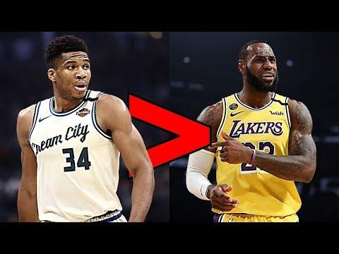 Why Giannis Antetokounmpo is the 2020 NBA MVP Over LeBron James!