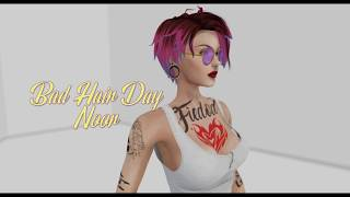 Review : Bad Hair Day - Noor [Second Life]