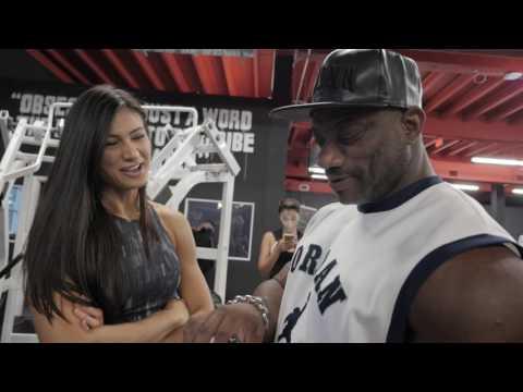 "Dexter ""The Blade"" Jackson Visits Iron Addicts Gym Miami + NPC Nationals Recap"