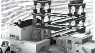 E. C. Escher - Waterfall (Now in 3D!)