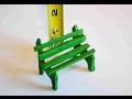 How To Make A Miniature Fairy Park Bench In Polymer Clay