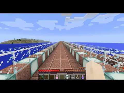 Minecraft - Eastern Highway city tour