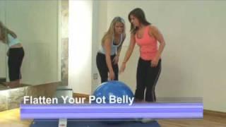 Flatten Your Pot Belly Workout Video