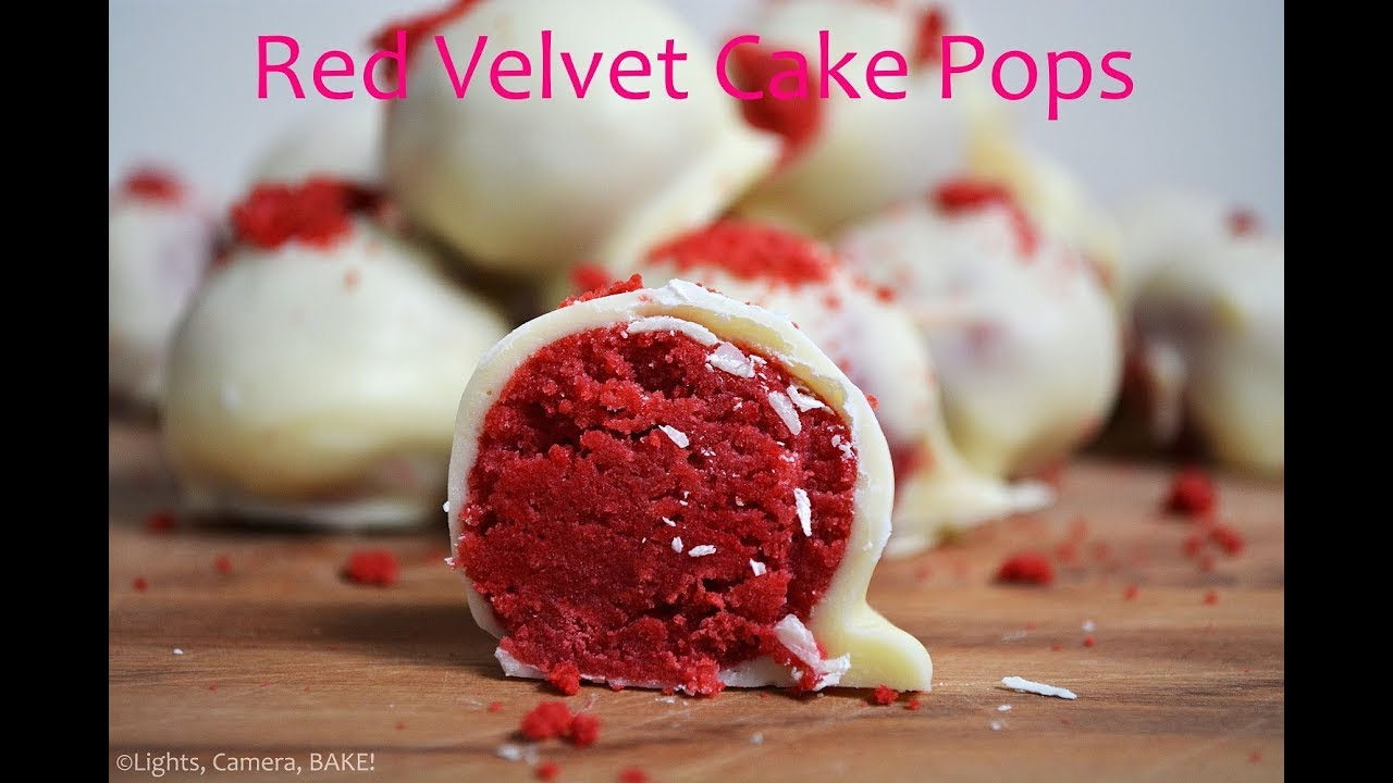 red velvet cake pops recept