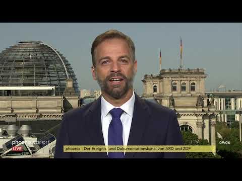 Merkel in China: phoenix tagesgespräch mit Stefan Liebich (DIE LINKE) am 06.09.19