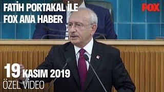 Tank Palet fabrikası için neden ihale yapılmadı? 19 Kasım 2019 Fatih Portakal ile FOX Ana Haber