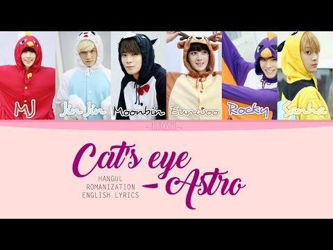 Astro - Cat's Eye (Color Coded Lyrics    HAN ROM ENG)