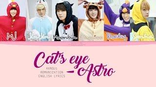 Astro - Cats Eye  Color Coded Lyrics || Han|rom|eng
