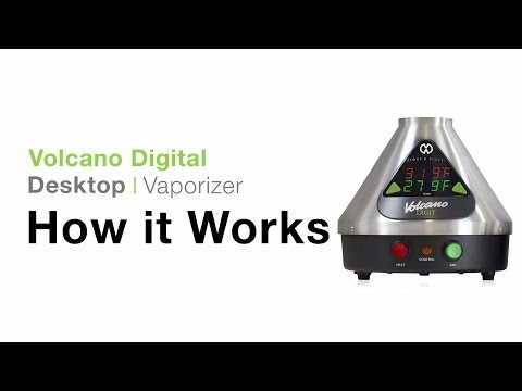 Digital Volcano Vaporizer Tutorial