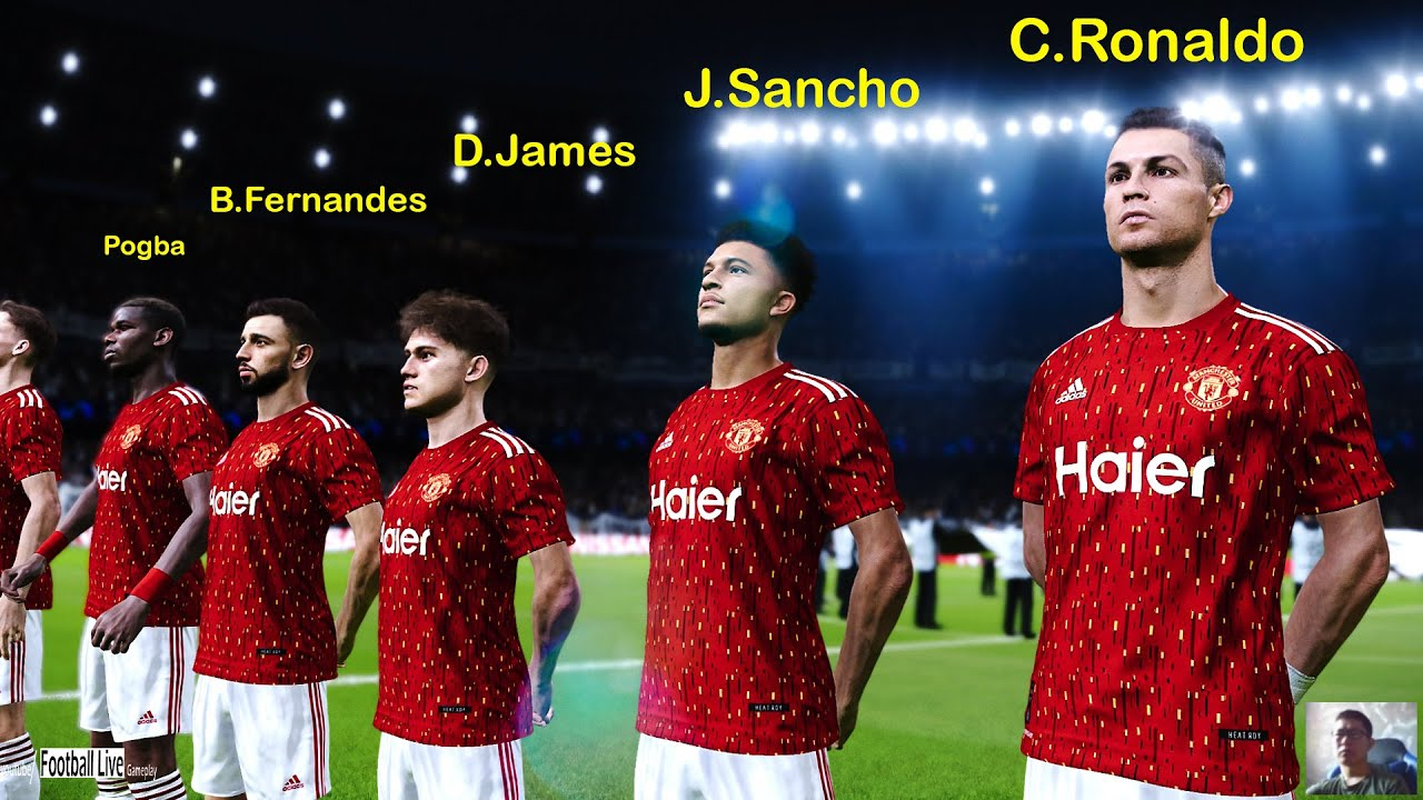 Pes 2020 C Ronaldo J Sancho Going To Manchester United Mbappe Going To Real Madrid Gameplaypc Youtube