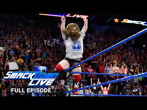 WWE SmackDown LIVE Full Episode, 1 May 2018