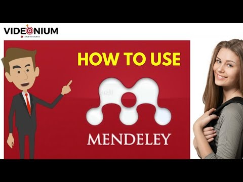 How to use MENDELEY DESKTOP (Word plugin) for your citation