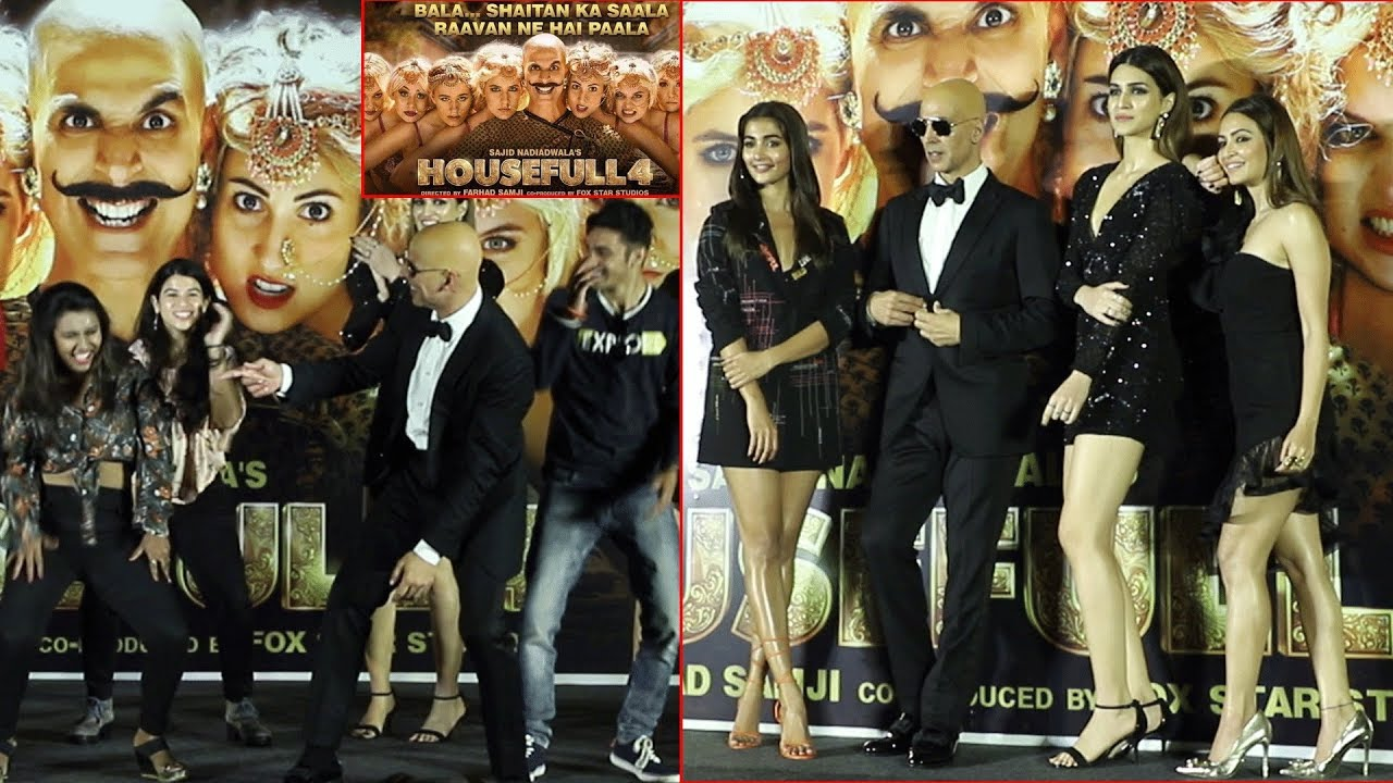 Akshay Kumar Housefull 4 Song Launch | Sohail Sen | Pooja Hegde | BEHIND BALA LOOK