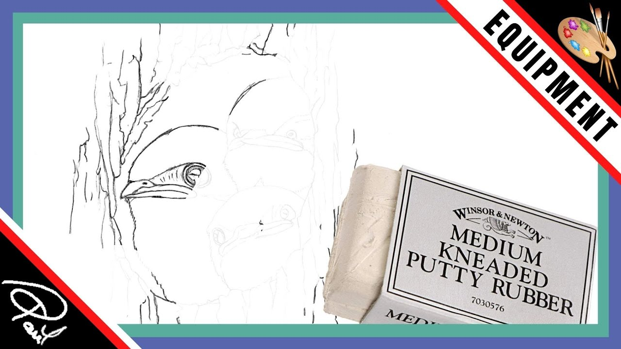 Watercolour Painting Tips - Using a Putty Rubber
