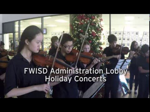 2015 FWISD Administration Lobby Holiday Concert Series: McLean Middle School Orchestra
