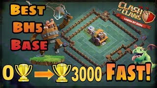 Clash of clans | Best Builders hall 5 Base! (BH5) Anti 2 star Legit Proof | Coc New Update 2017