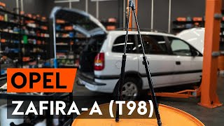 Watch the video guide on OPEL ZAFIRA A (F75_) Brake Drum replacement