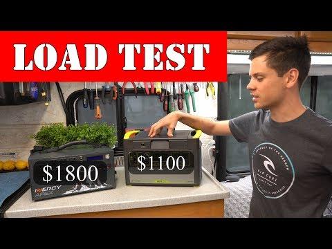 $1100 GoalZero VS $1800 Inergy Apex Load Test