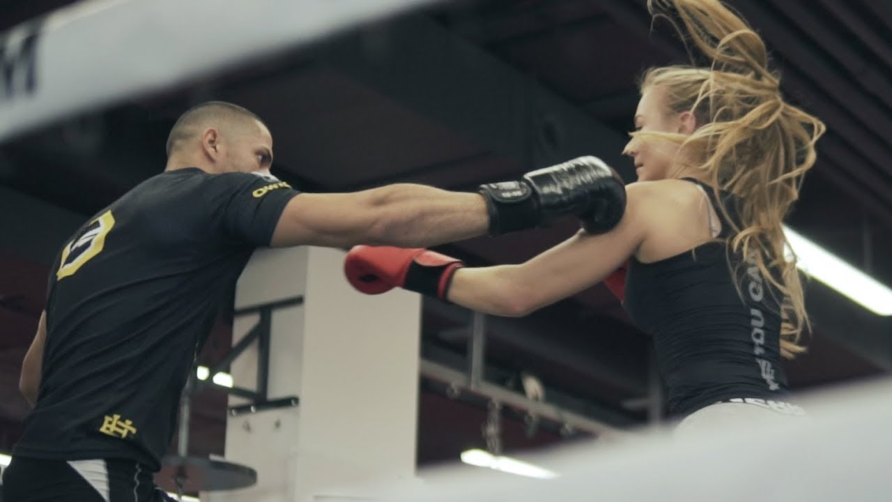 FITNESS GIRL VS MMA FIGHTER | Victoria & Omar