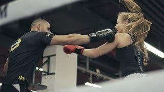 OKTAGON MMA Fighter - Omar Ahmad  vs Bikini Fitness - Victoria Sprlo