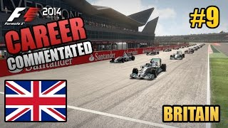 F1 2014 Career Mode (Commentated) - 09 - Britain - Williams (Legend AI)