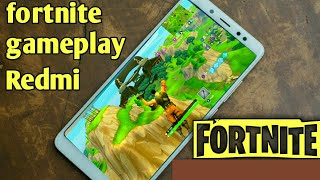Fortnite gameplay android | 🔥🔥🔥🔥 | how to play fornite android| ✔✔