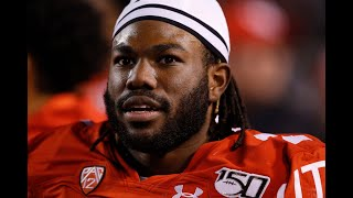 Utah RB Zack Moss Interview; Updated Round 1 Mock Draft