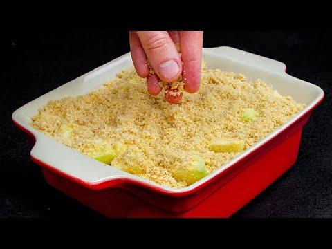 découvrez-une-recette-très-savoureuse-et-très-rapide-avec-ce-gâteau-aux-pommes!|-savoureux.tv