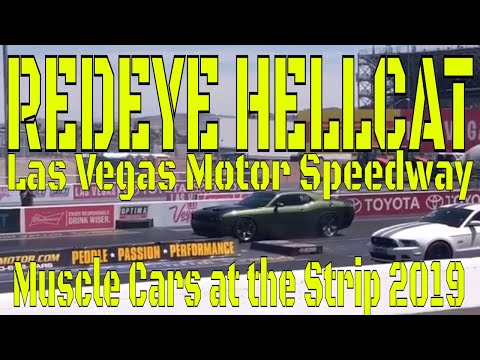 Muscle Cars at the Strip 2019 Redeye Demon Hellcat Challenger Charger DragRacing CarShow 1320 racing
