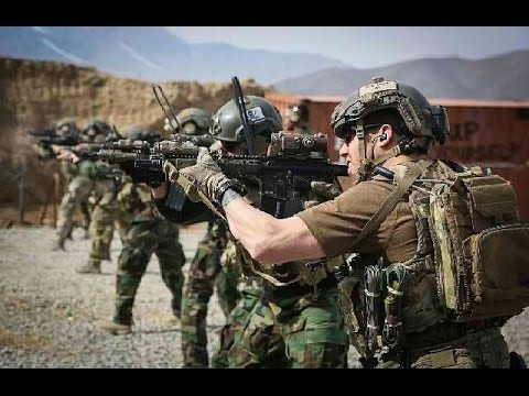 United States Marine Corps Training With US Army Special Forces Tactics