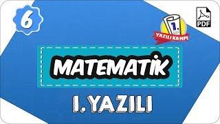 6. Sınıf Matematik 2.Dönem 1.Yazılı | 2020