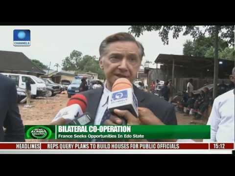 French Govt. Seeks Bilateral Trade Opportunities In Edo State