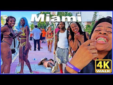 【4K】WALK Memorial Day Weekend in MIAMI BEACH 2021 Florida US