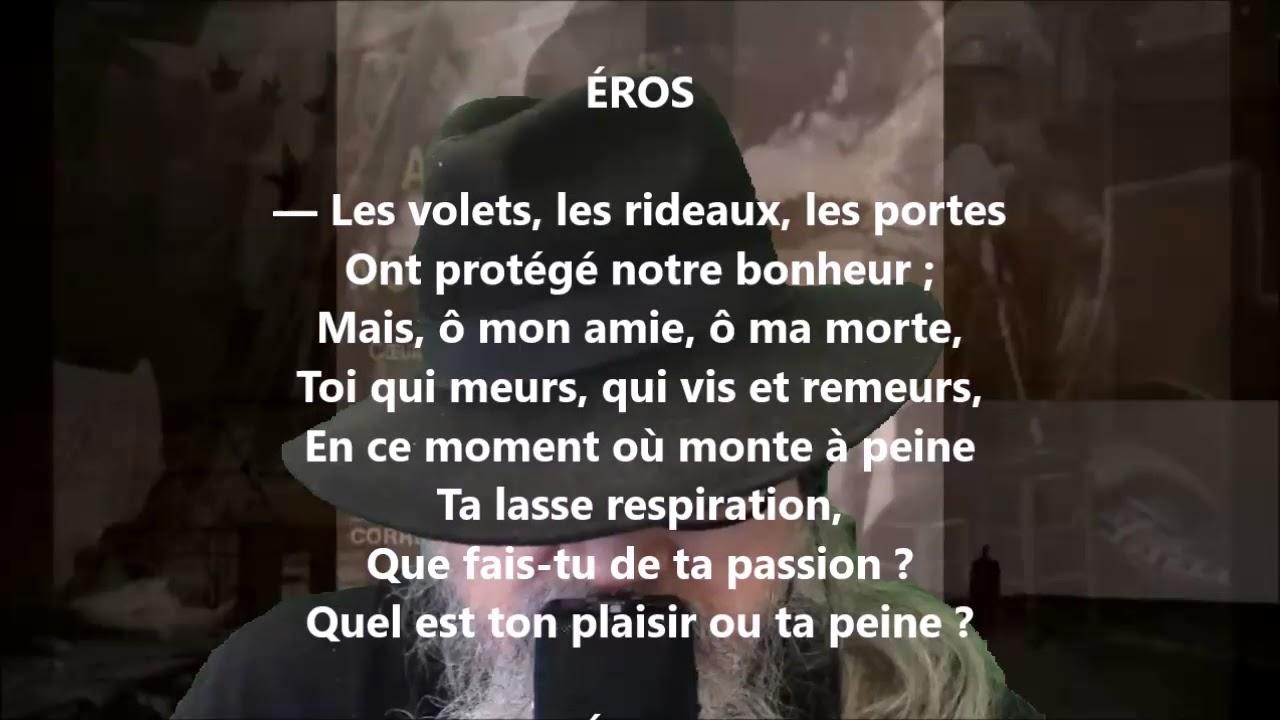 Poème De Lamour Xxxviii Anna De Noailles Lu Par Yvon Jean