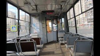 Смотреть видео Санкт-Петербург, маршрут 10: ЛВС-86К, №3021 онлайн