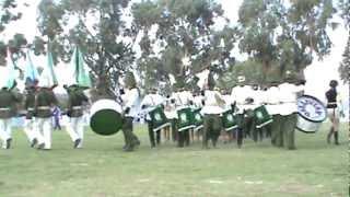 Banda del colegio Jose Ballivian de Viacha 2011.MPG