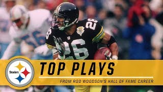 Rod Woodson's Top Plays | Pittsburgh Steelers Hall of Fame Highlights