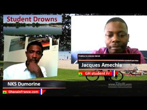 A Ghanaian student drowns in France: Jacques on GiF TV