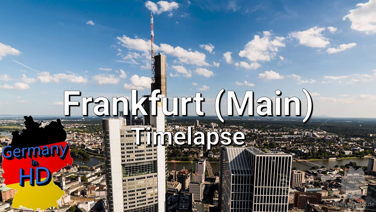 frankfurt main timelapse in 4k youtube. Black Bedroom Furniture Sets. Home Design Ideas
